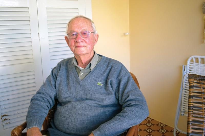 Horst Herbert Schneider tem vivas as memórias do tempo da Verafumos