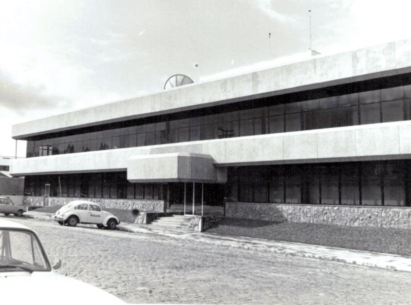 Inauguração da sede administrativa da Verafumos, em 1987