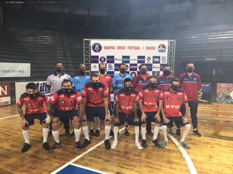 Santa Cruz Futsal apresenta elenco para disputa do Gauchão de Futsal