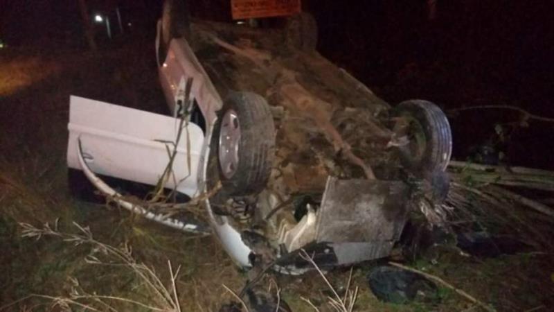 Homem fica ferido em acidente na RSC-287, em Candelária