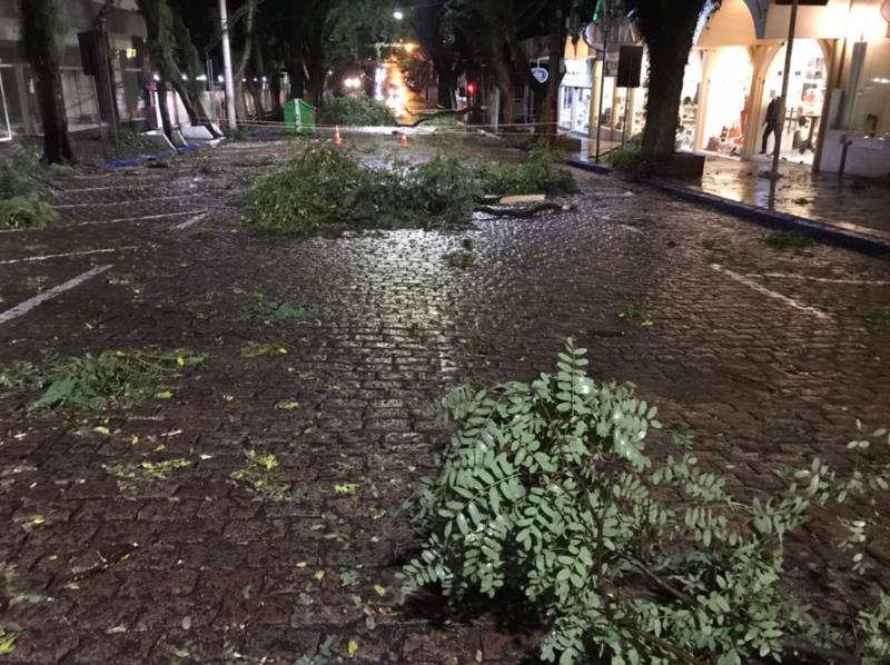 Rua Marechal Floriano, em Santa Cruz do Sul