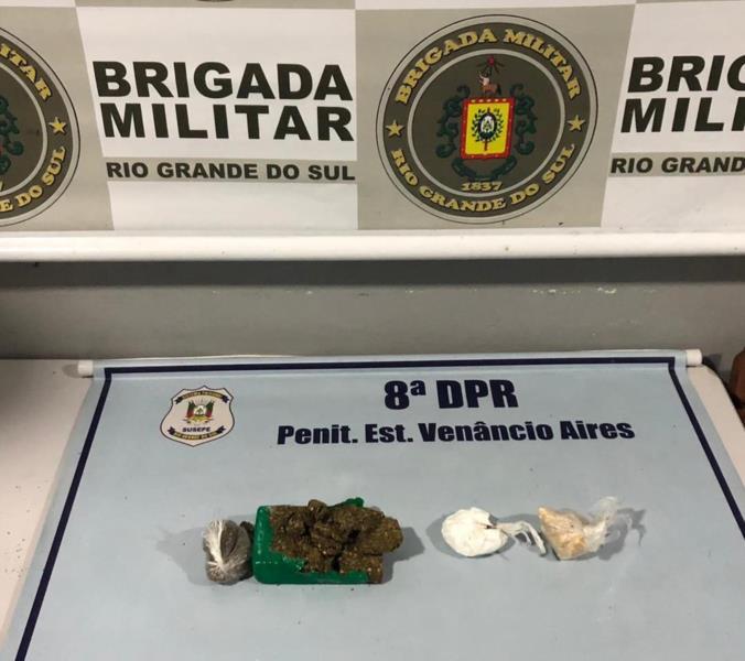 Invólucro foi localizado pela guarnição da área externa da Peva na manhã de hoje