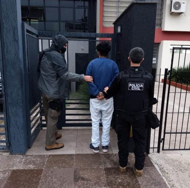 Prisão foi realizada na manhã desta terça-feira no Bairro Progresso, em Santa Cruz