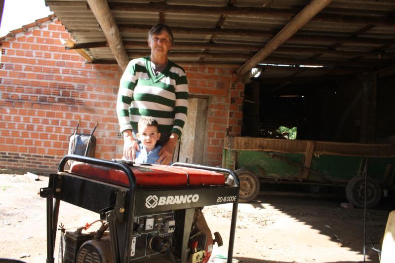 Agricultores registram prejuízos por conta dos cinco dias sem energia