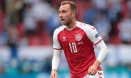 Jogador da Dinamarca se recupera após síncope durante jogo da Eurocopa