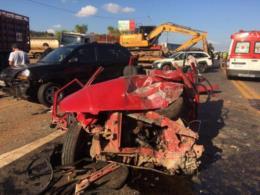 Presa mulher que provocou acidente na BR-386 em Lajeado