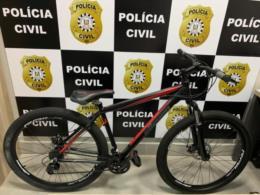 Polícia Civil recupera bicicleta furtada que estava sendo vendida em rede social