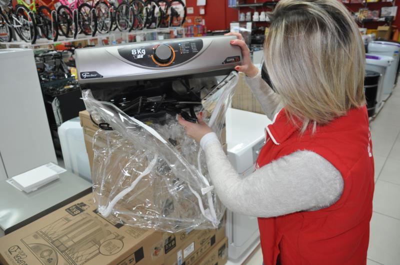 Secadora de roupas está entre os itens mais procurados