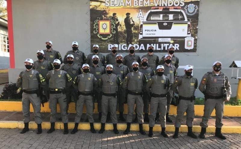 Atuação dos alunos soldados faz parte da disciplina de estágio supervisionado em policiamento ostensivo