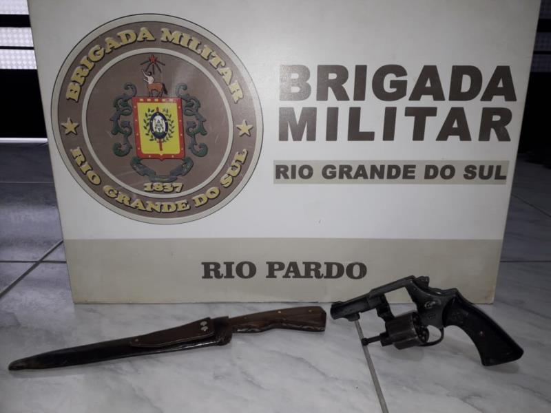 Prisão foi realizada pela Brigada Militar na manhã deste domingo
