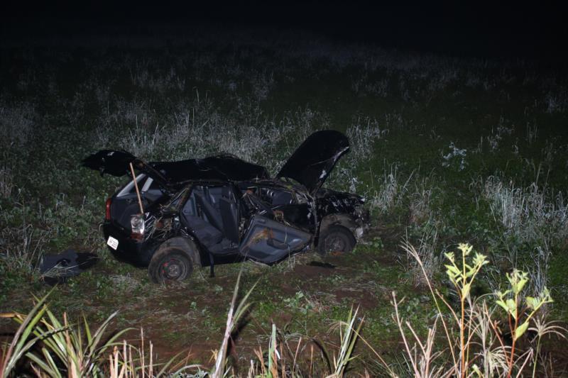 Caso aconteceu na noite deste domingo, próximo da divisa entre os municípios de Vera Cruz e Vale do Sol