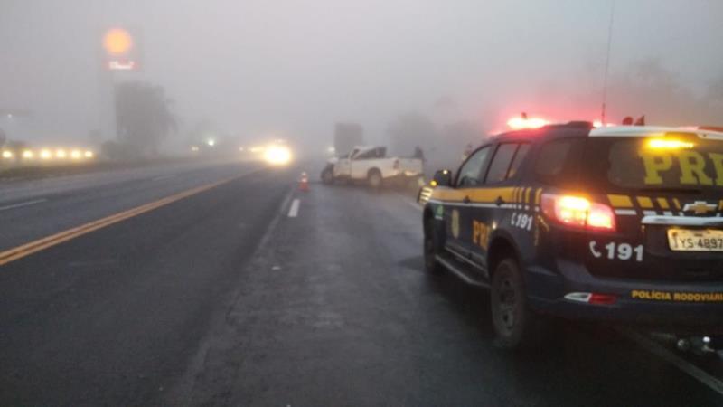 O motorista da Hilux, um homem de 44 anos, morreu no local
