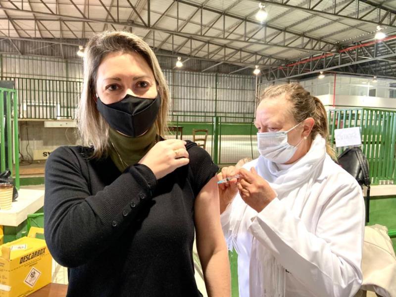 Imunização será realizada em três locais e em horários diversos