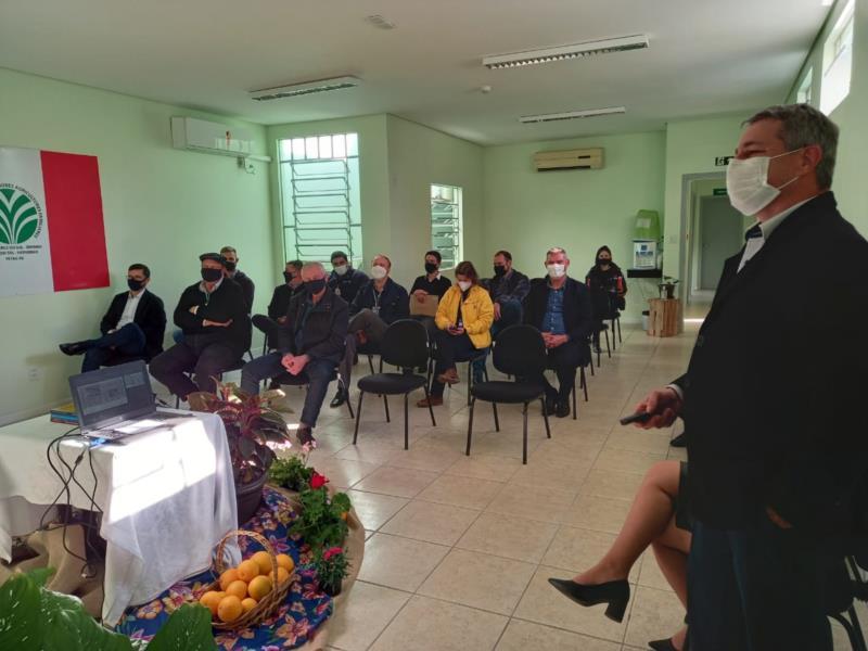 Presidente do STR Renato Goerck apresentou histórico da entidade