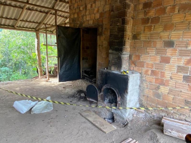 Agricultor foi morto em fornalha que era usada em propriedade