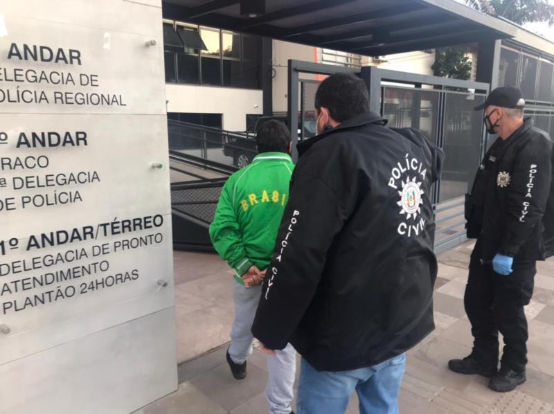 Polícia Civil prende homem em Santa Cruz com carro que foi roubado em Alvorada