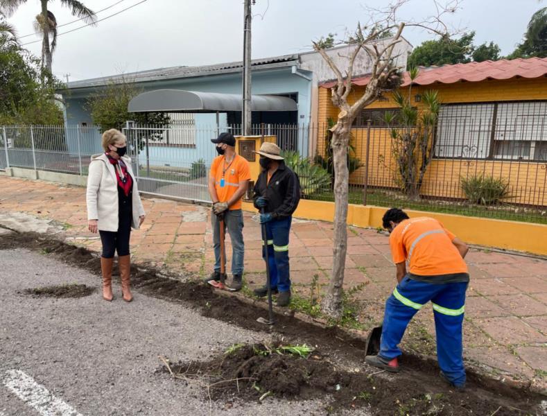 Prefeitura inicia recapeamento asfáltico de vias de entrada e saída da cidade