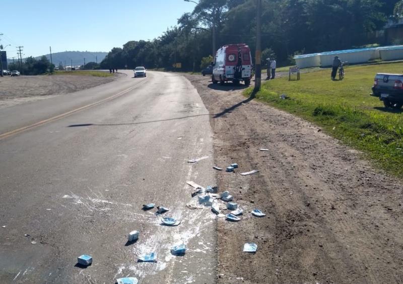 Mulher morre atropelada na BR-471 em Santa Cruz