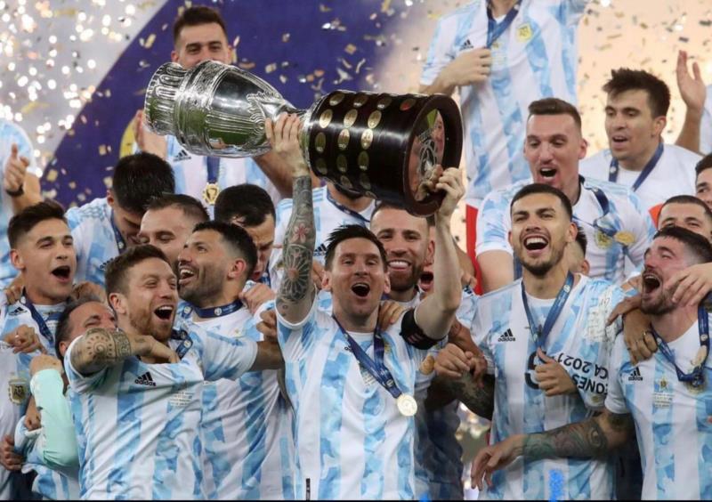 Argentina vence o Brasil e é a campeã da Copa América