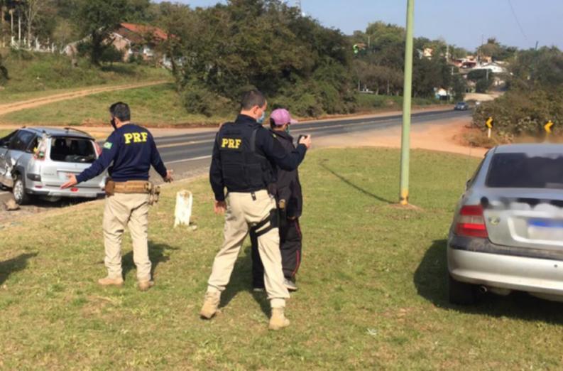 Colisão envolvendo três veículos deixa feridos na BR-471 em Rio Pardo
