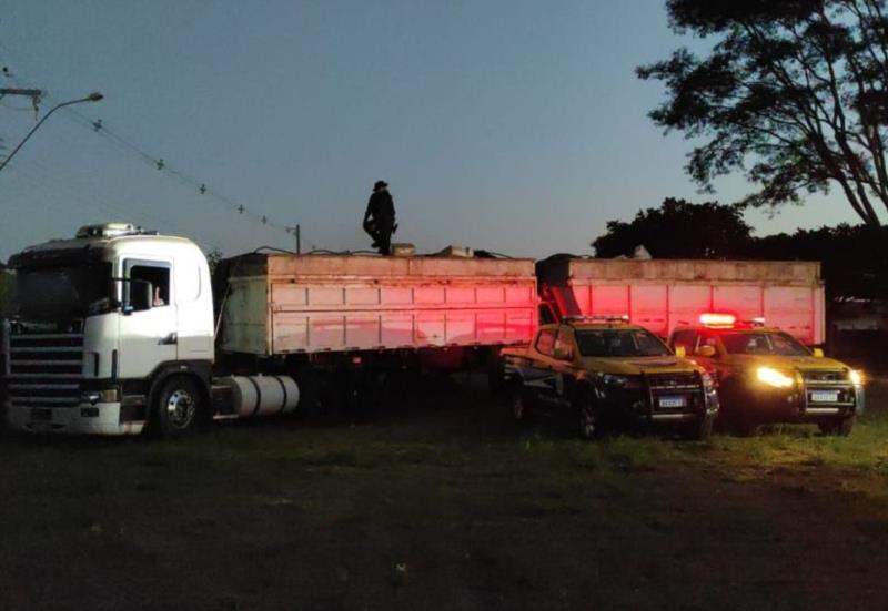 Polícia apreende mais de 36 toneladas de drogas em caminhão no Mato Grosso do Sul