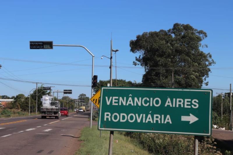 Trecho da RSC-453 passa por Venâncio Aires