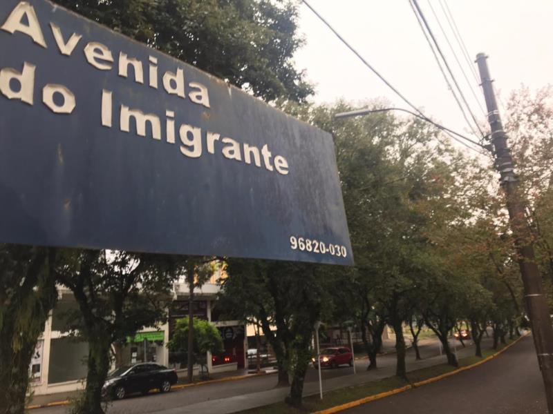Avenida do Imigrante é uma das vias com alteração