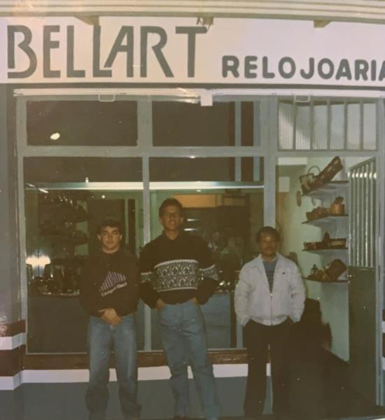 Bellart iniciou na década de 90 em Santa Maria