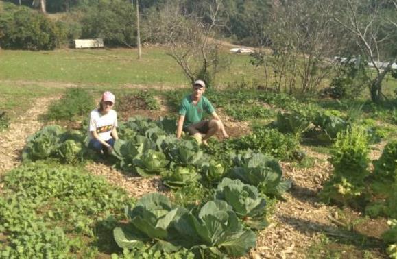 Moradores de Linha Andrade Neves, Lidiane e Douglas, apostam na área e dão continuidade ao trabalho da família