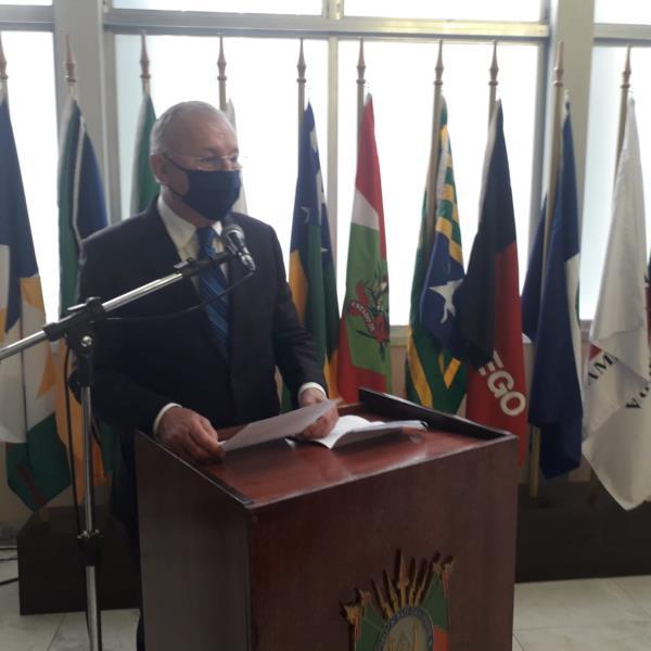 Roberto Cervo recebeu a homenagem nesta quarta-feira