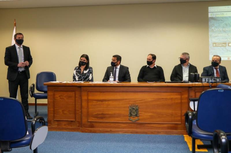 O lançamento do programa ocorreu na sede do Ministério Público em Venâncio Aires nesta quarta-feira