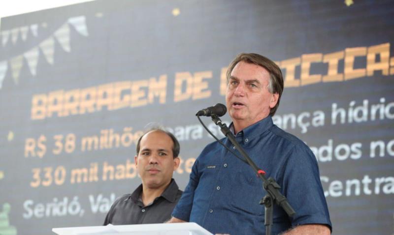 Bolsonaro está internado em São Paulo desde a noite de ontem