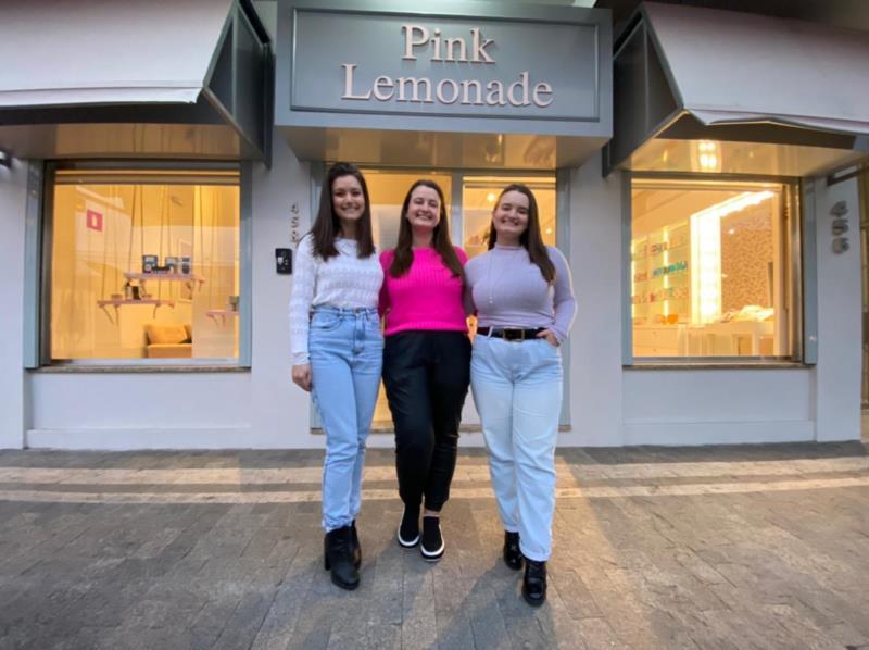 Andressa, Anelise e Amanda comandam a Pink Lemonage