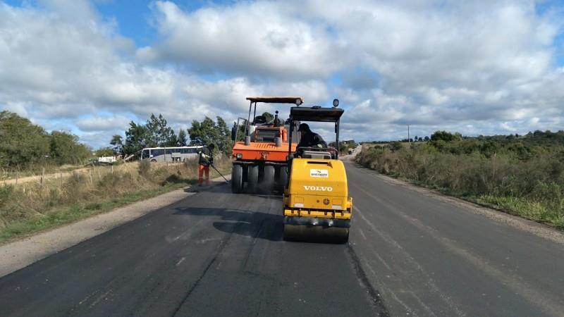 Mais de R$ 4,7 milhões do Tesouro do Estado estão sendo empregados em 59,89 km da rodovia