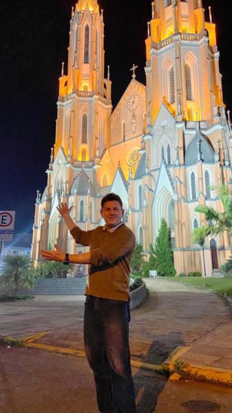 Vereador Muchila planeja Show de luzes na Igreja Matriz