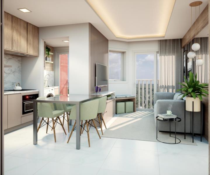 Bonitos e práticos, os apartamentos do condomínio vertical trazem inúmeros diferenciais