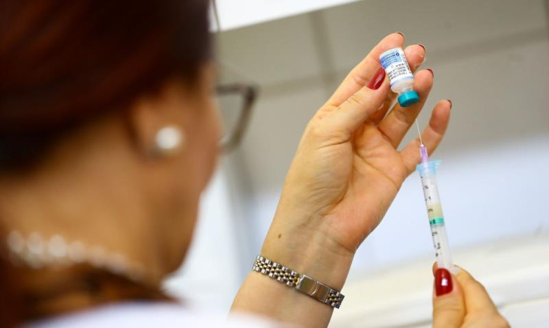 Vacinas serão aplicadas em frente ao pavilhão da Comunidade Católica São José