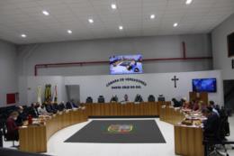 Câmara de Vereadores recebe 13 projetos na sessão desta segunda-feira