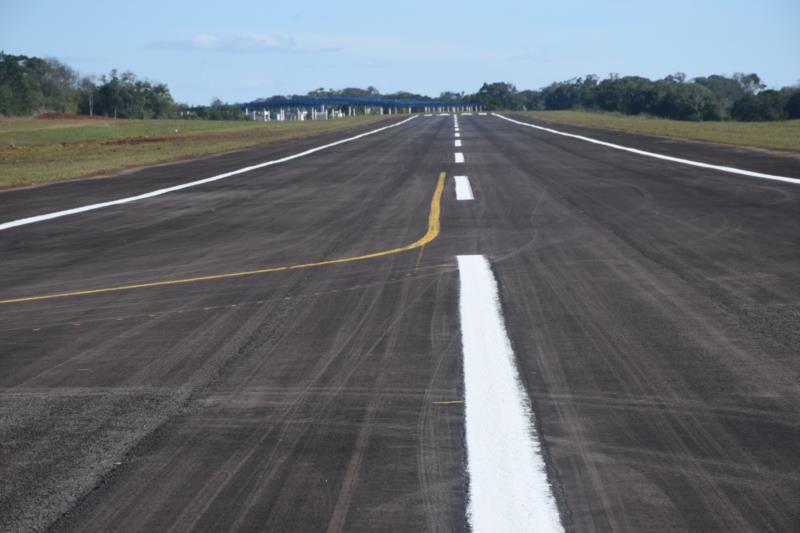 Aeroporto passa por intervenções