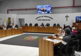 Vereadores de Santa Cruz aprovam flexibilizações na Lei dos Vales