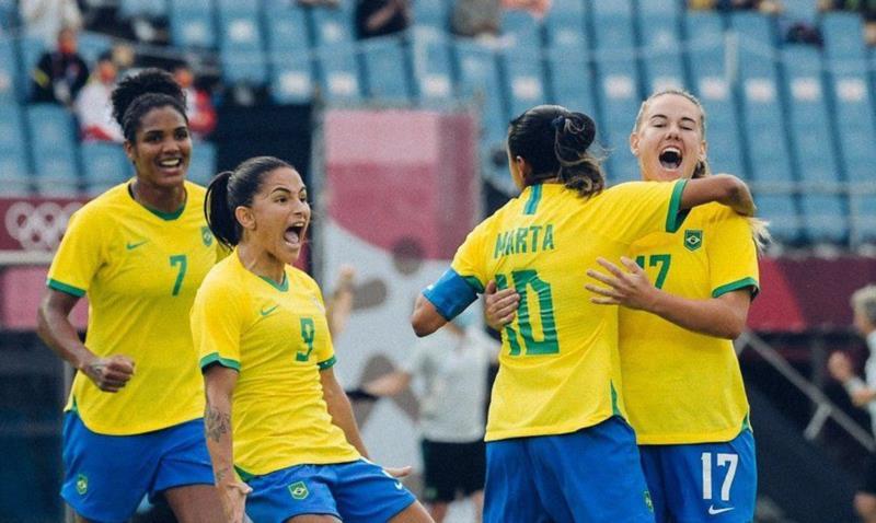 Brasileiras garantiram os três primeiros pontos do Grupo F