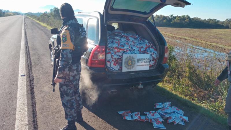 Prisão foi realizada na manhã desta quinta-feira no km 157 da rodovia