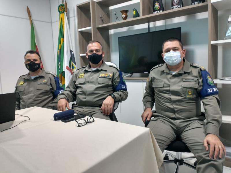 Capitão Rafael, Major Azevedo e Major Gaira