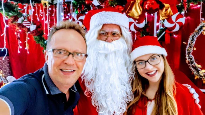 Natal é uma das épocas favoritas do ano de Sérgio