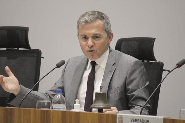 Promotor Érico Barin, responsável pela ação