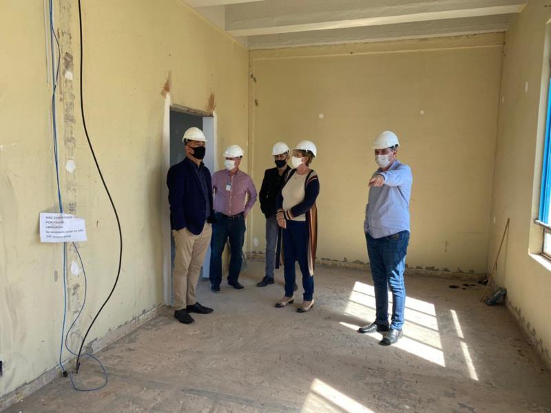 Obras do Centro Administrativo no antigo prédio da Fisc já estão em andamento