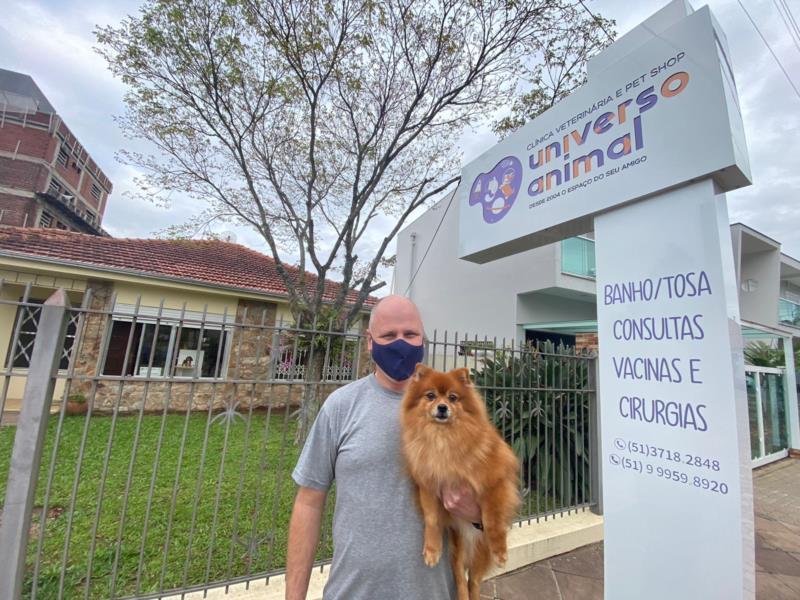 Universo Animal amplia espaço e atende em novo endereço em Vera Cruz