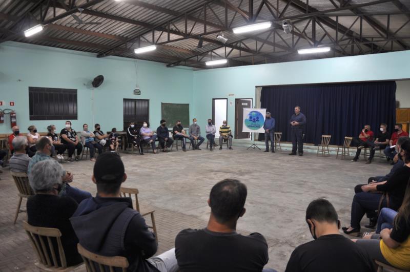 Comunidade de Ferraz foi a primeira a ser beneficiada com a nova iniciativa