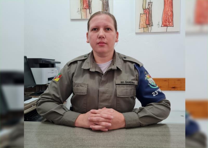 Militar substitui o sargento Eduardo que passou para a reserva