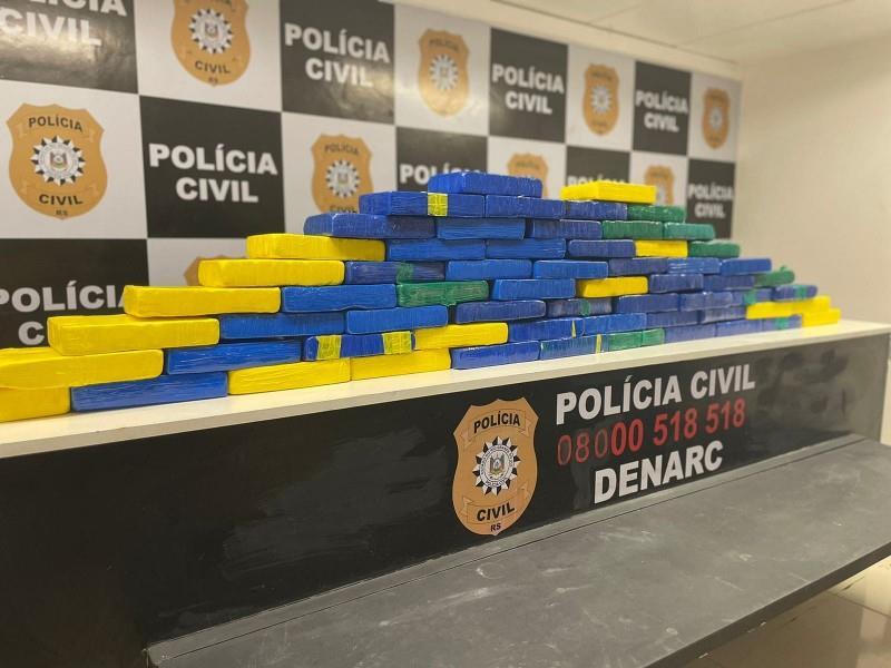 Droga está avaliada em cerca de R$ 1.500.000,00